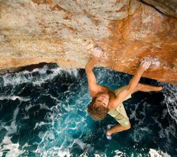 Крис Шарма: мысли о скалолазании
